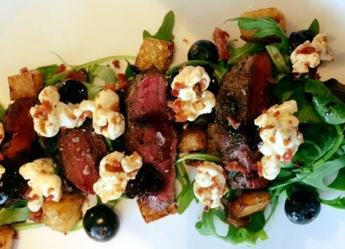 The winning main course